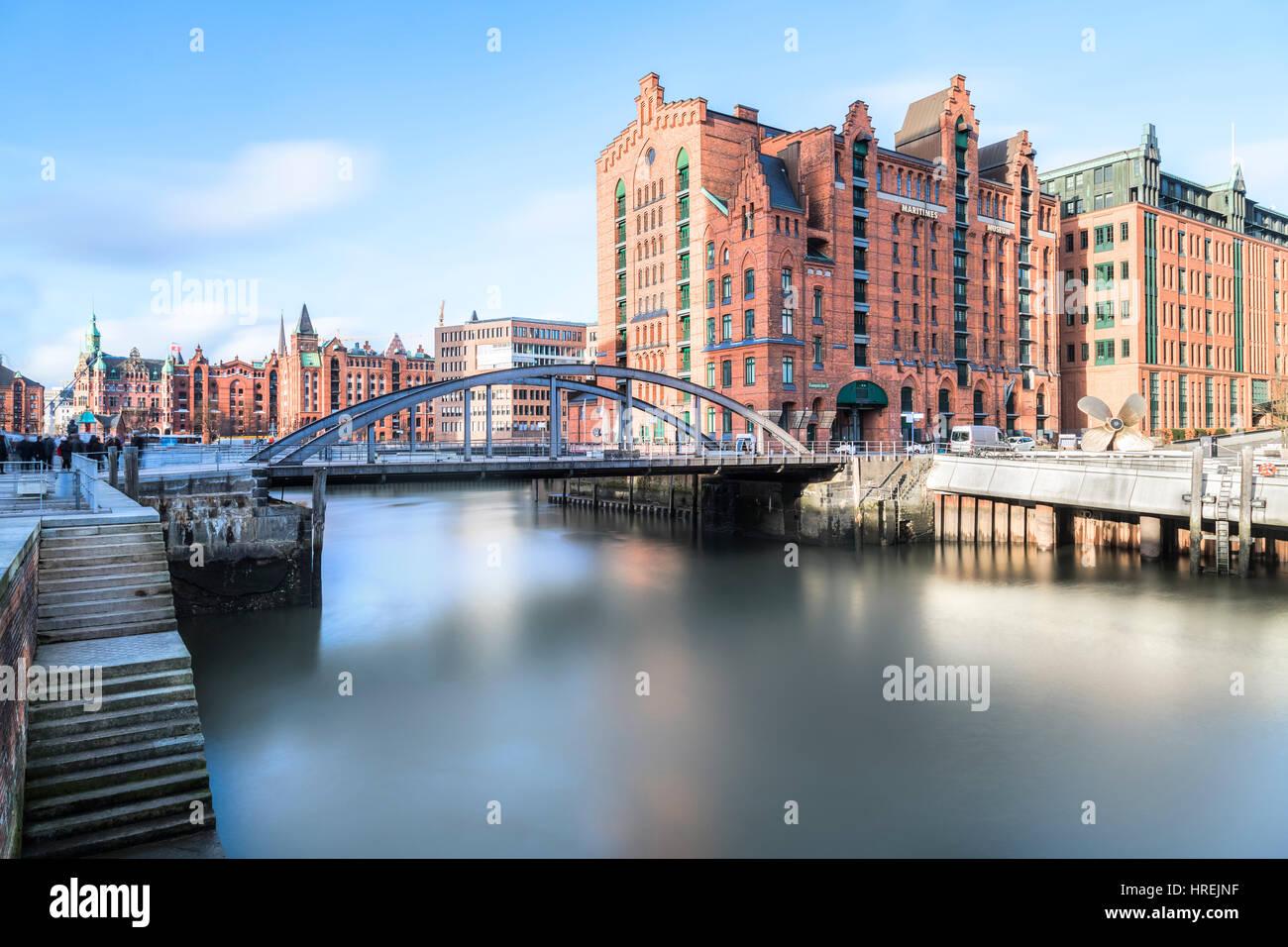 Brooktorhafen, Hamburg, Germany, Europe - Stock Image