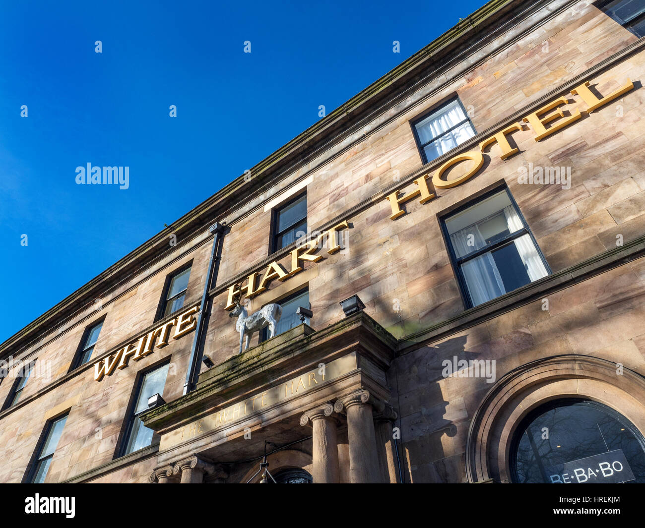 The White Hart Hotel and Conference Centre on Cold Bath Road in Harrogate North Yorkshire England - Stock Image