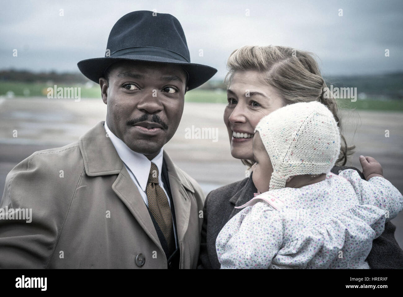 A United Kingdom is an upcoming British period biopic directed by Amma Asante and starring David Oyelowo and Rosamund - Stock Image
