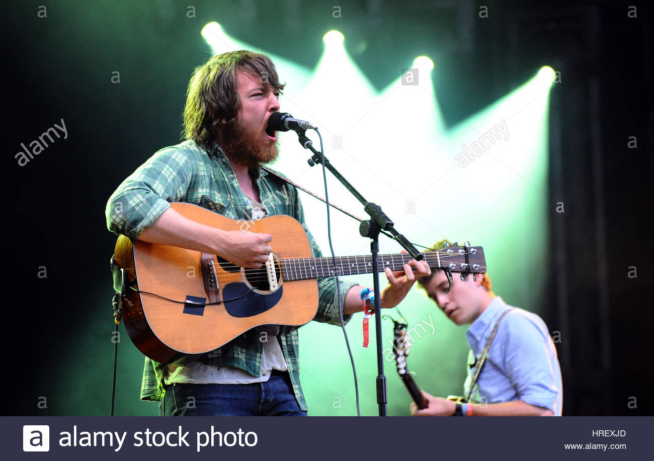 File photo dated 27/06/09 of Fleet Foxes, who will headline this summer's Latitude festival, organisers have - Stock Image