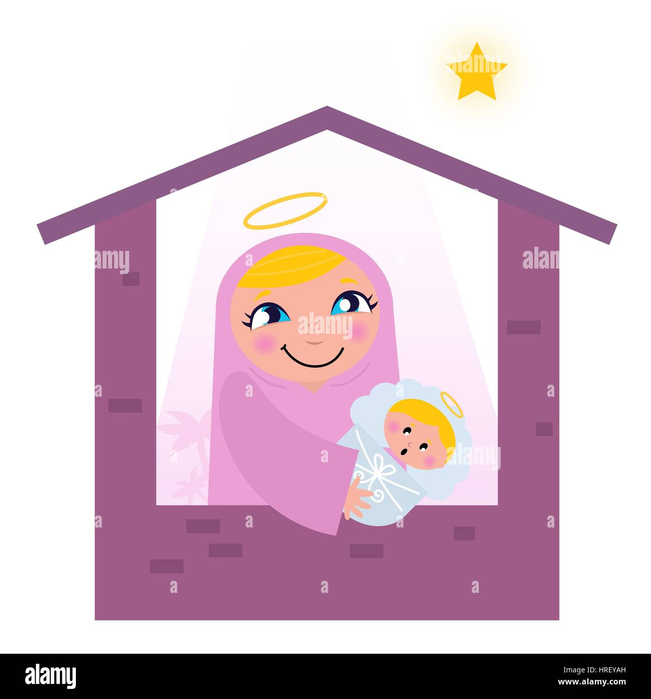 Baby Jesus Cut Out Stock Images & Pictures - Alamy