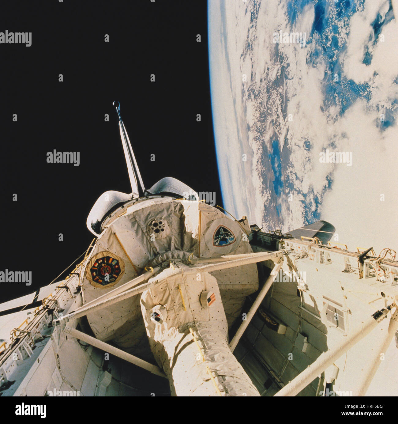 STS-58, Space Shuttle Columbia, 1993 - Stock Image