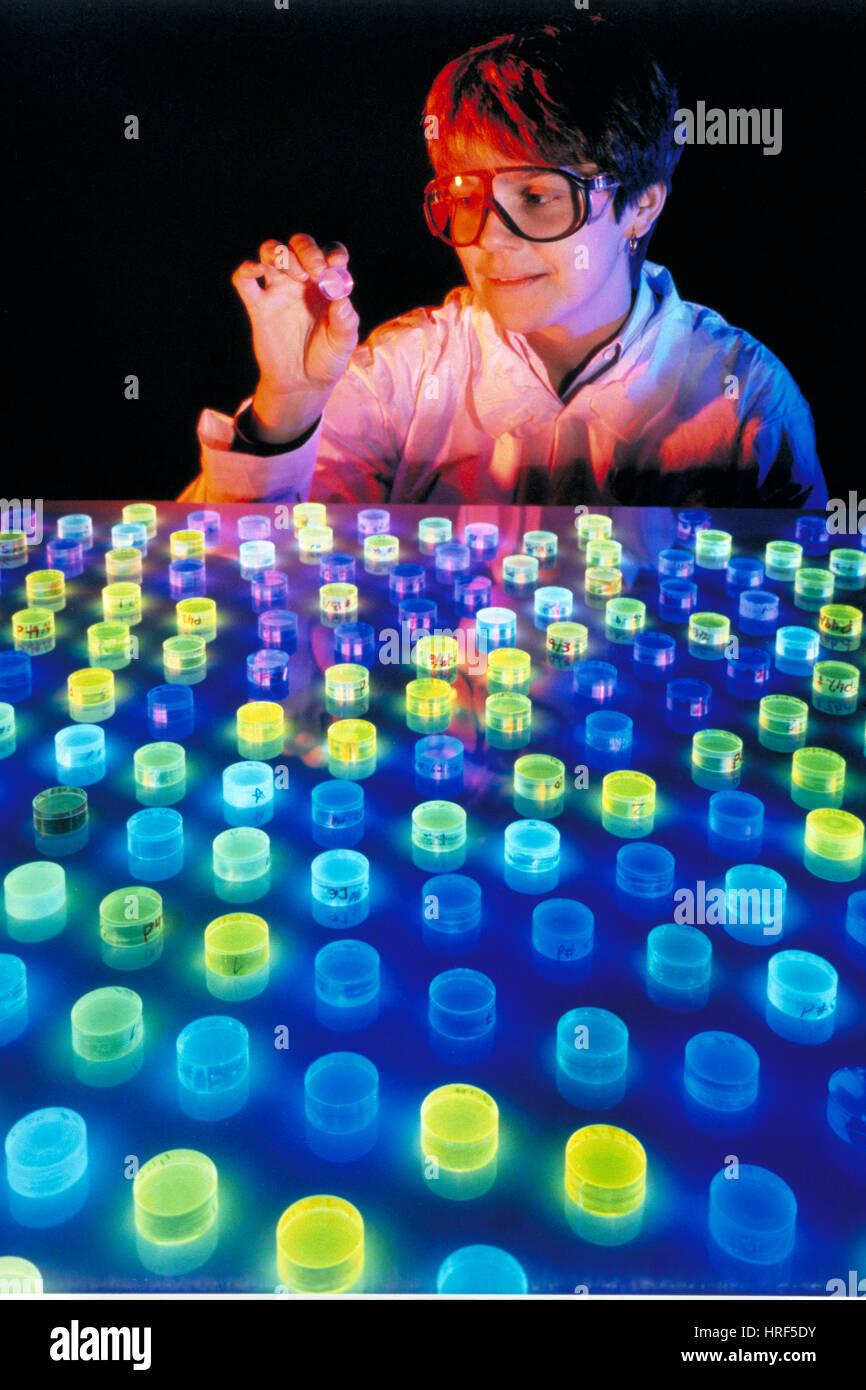 Detection of Cosmic Rays - Stock Image