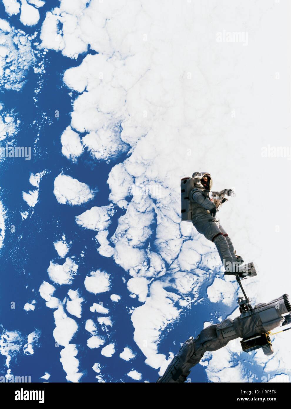 Astronaut C. Michael Foal - Stock Image