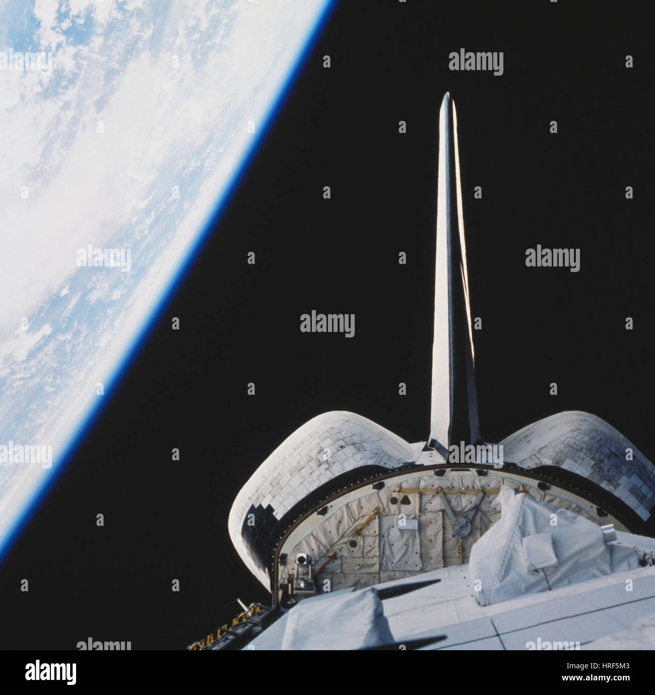 STS-99, Space Shuttle Endeavour, 2000 - Stock Image