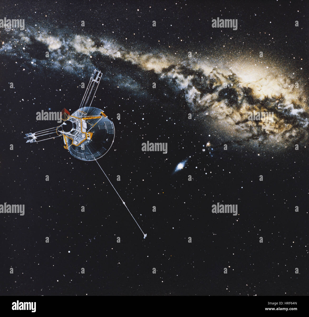 Pioneer 10 - Stock Image