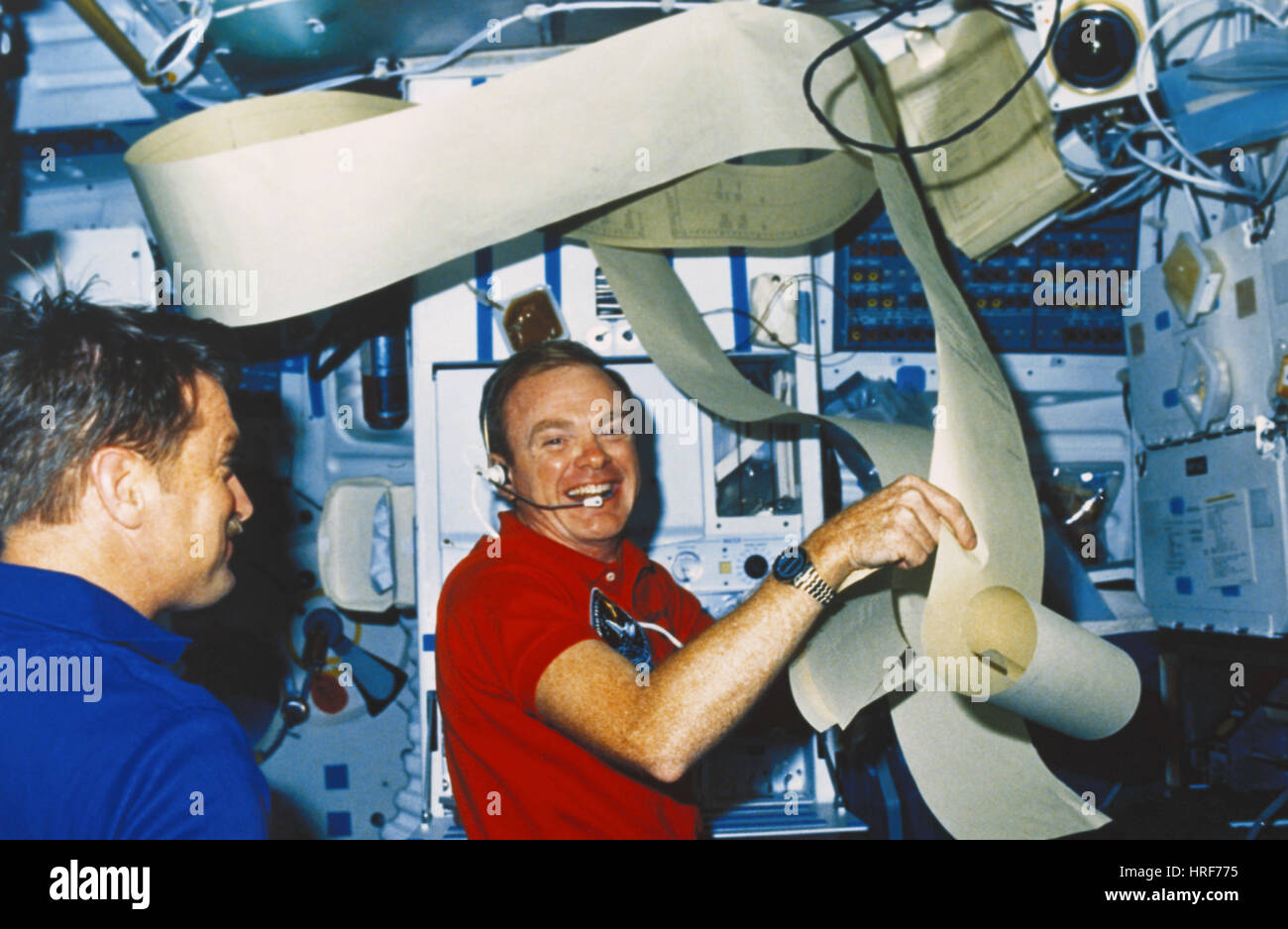 STS-51-F, Shuttle Astronauts, 1985 - Stock Image
