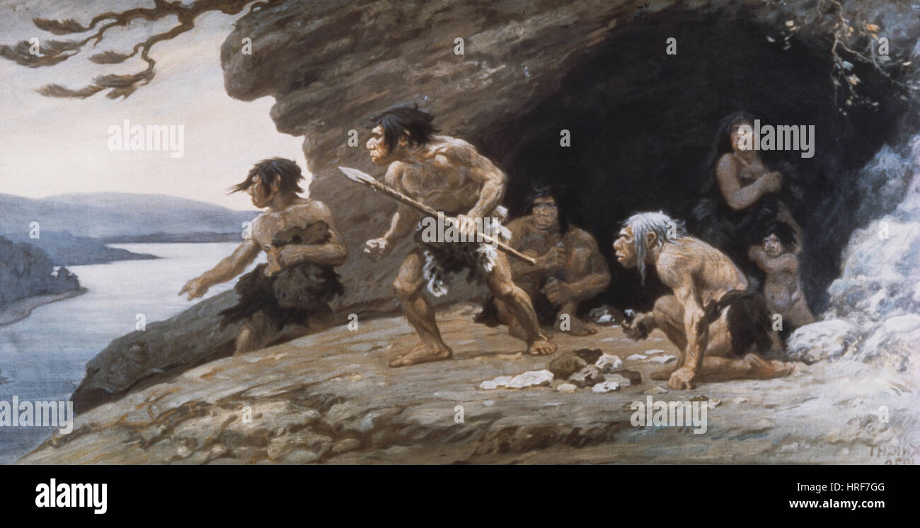 Neanderthal Caveman Stock Photos & Neanderthal Caveman ...