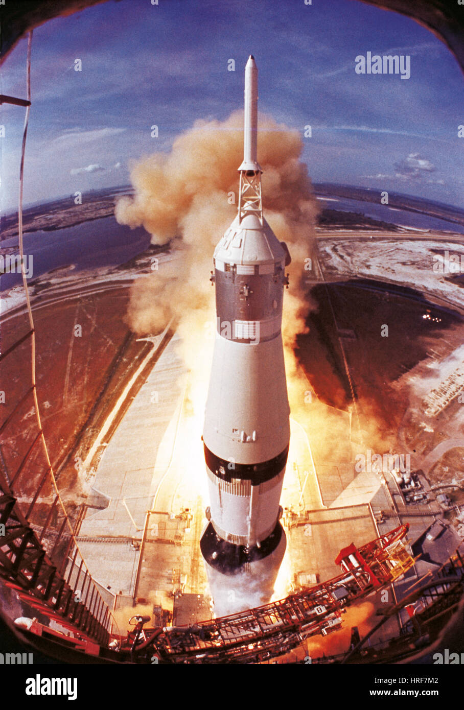 Apollo II Launch - Stock Image