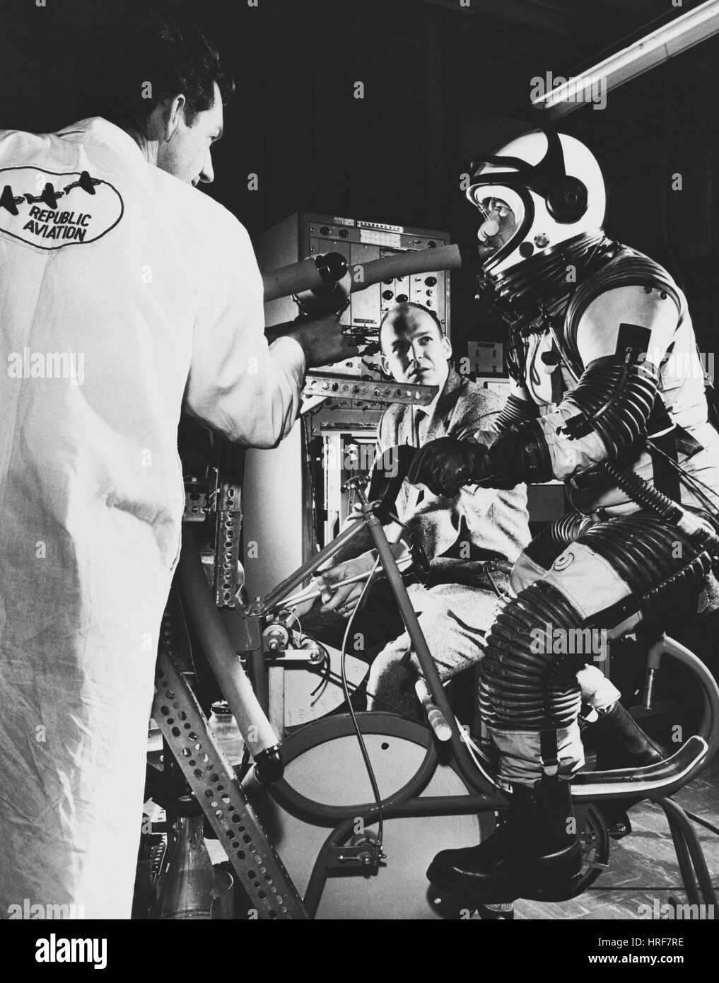 Apollo Program Research - Stock Image