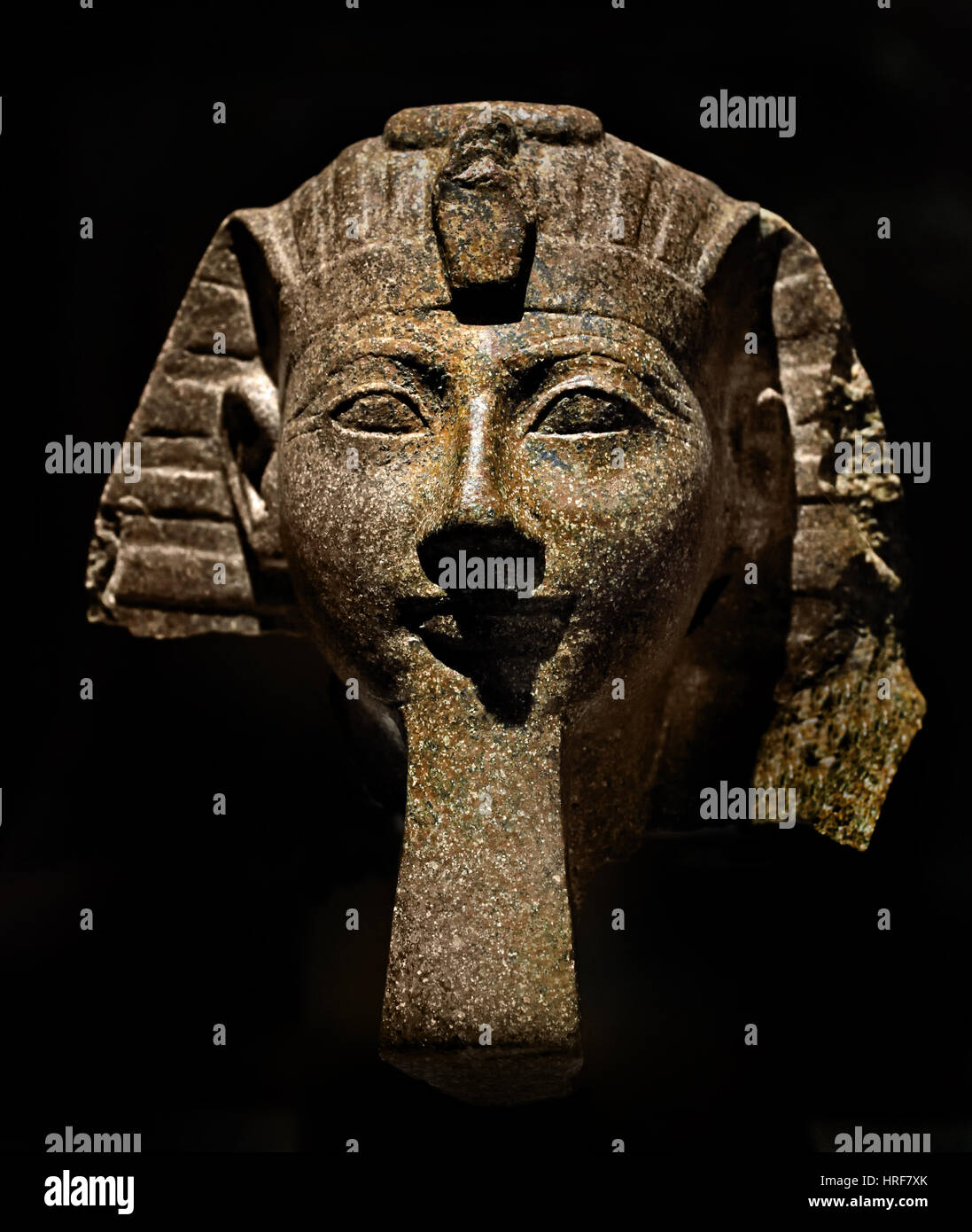 Hatshepsut - Hatchepsut; - 1507–1458 BC) was the fifth pharaoh of the Eighteenth Dynasty of Egypt. - Stock Image