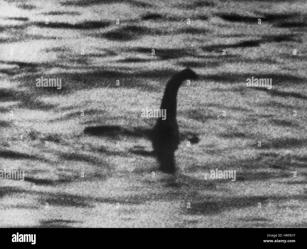 Loch Ness Monster - Stock Image