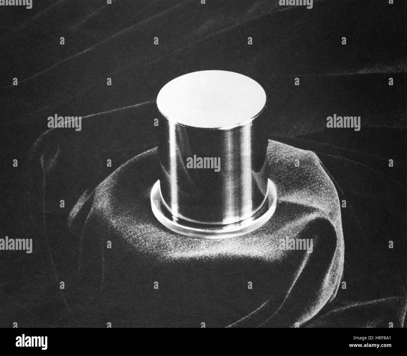 National Standard of Mass, Kilogram No. 20 Stock Photo
