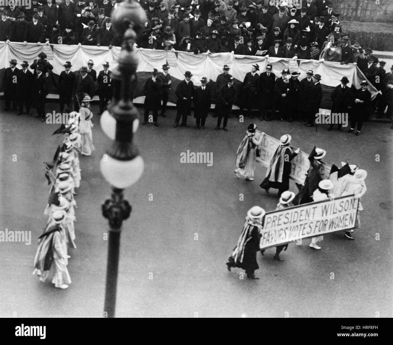 Suffragists NYC, 1916 - Stock Image