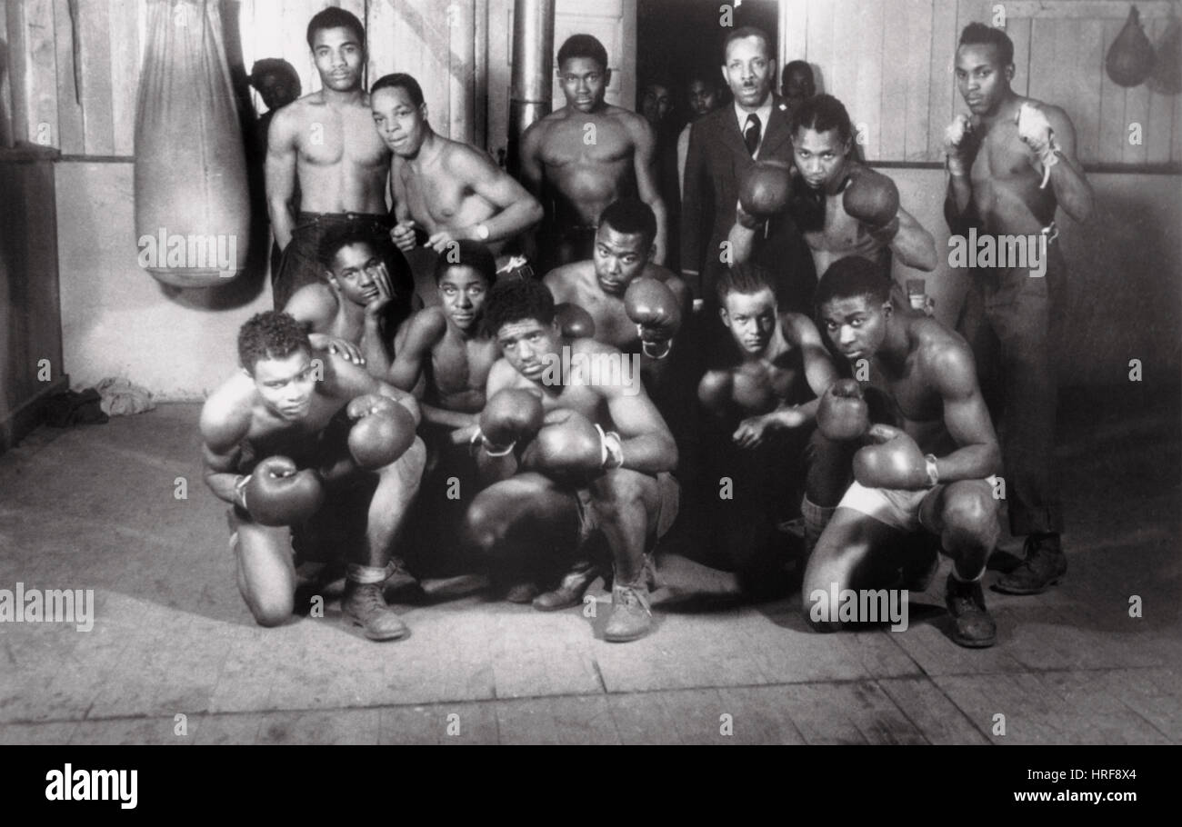 Boxing Team - Stock Image