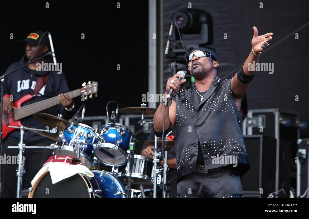 Toots and the Maytals at Bestival 2011 Stock Photo