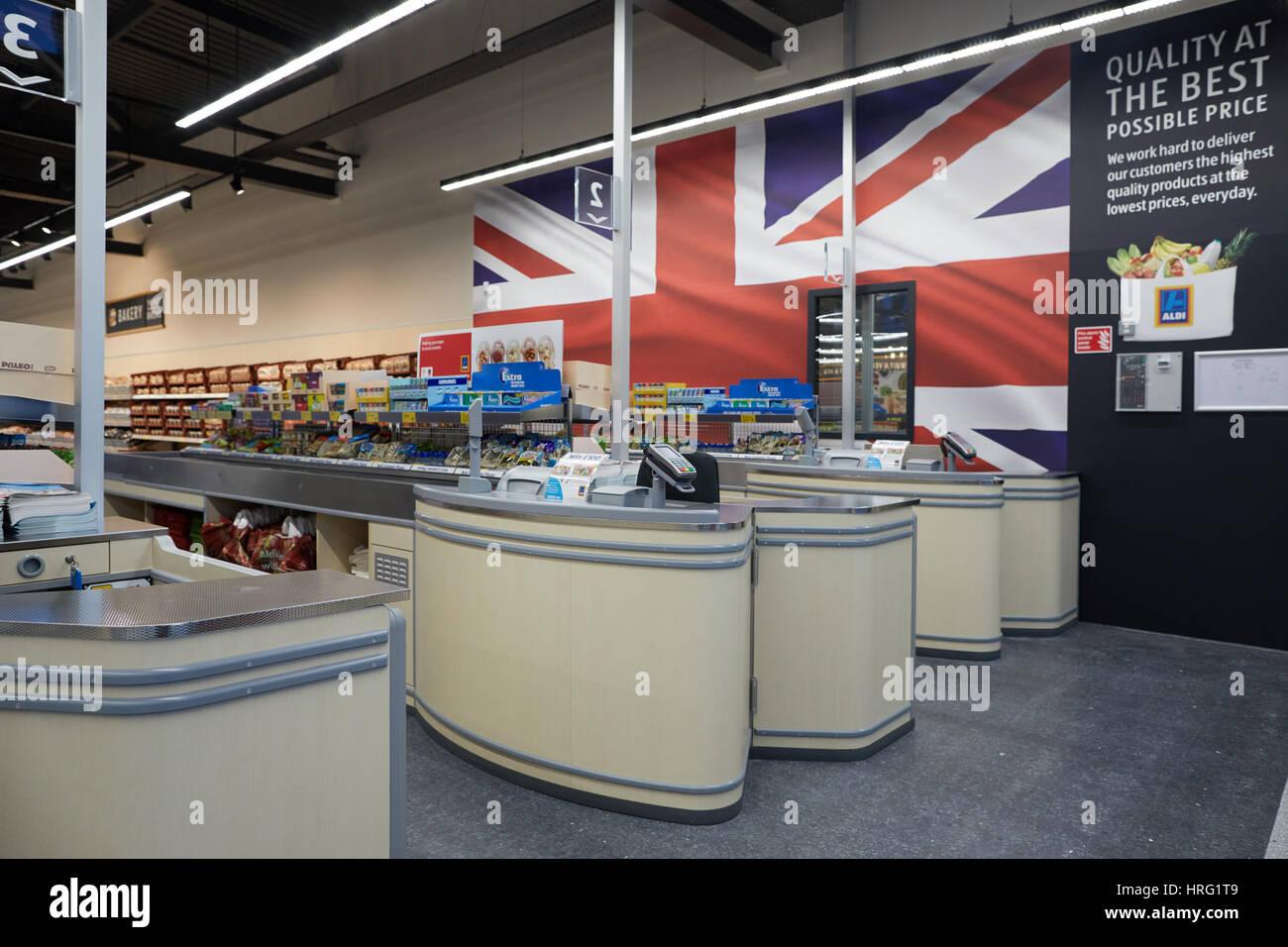 Aldi Northwich discount supermarket new store opening in