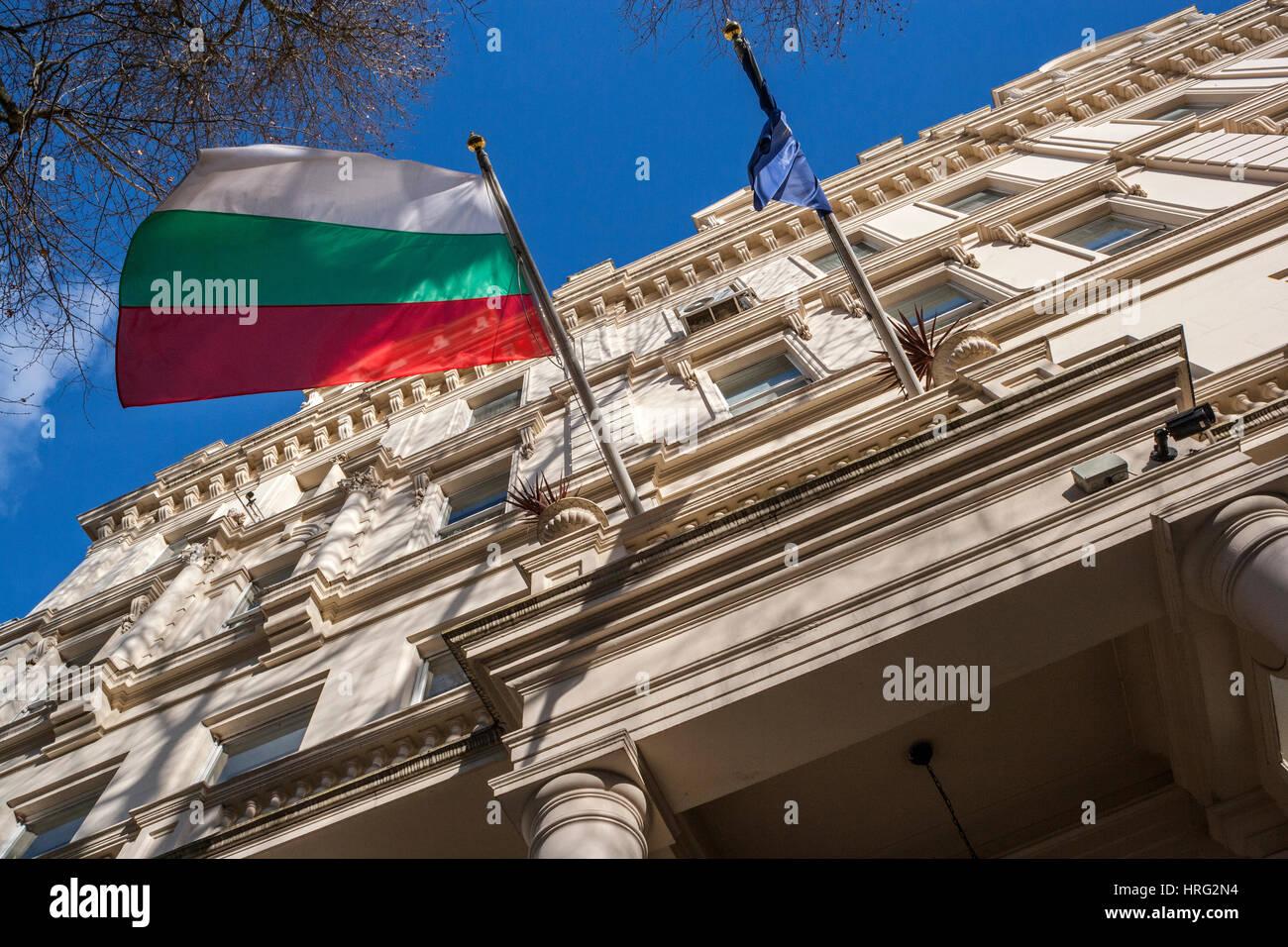 Bulgarian Embassy, London - Stock Image