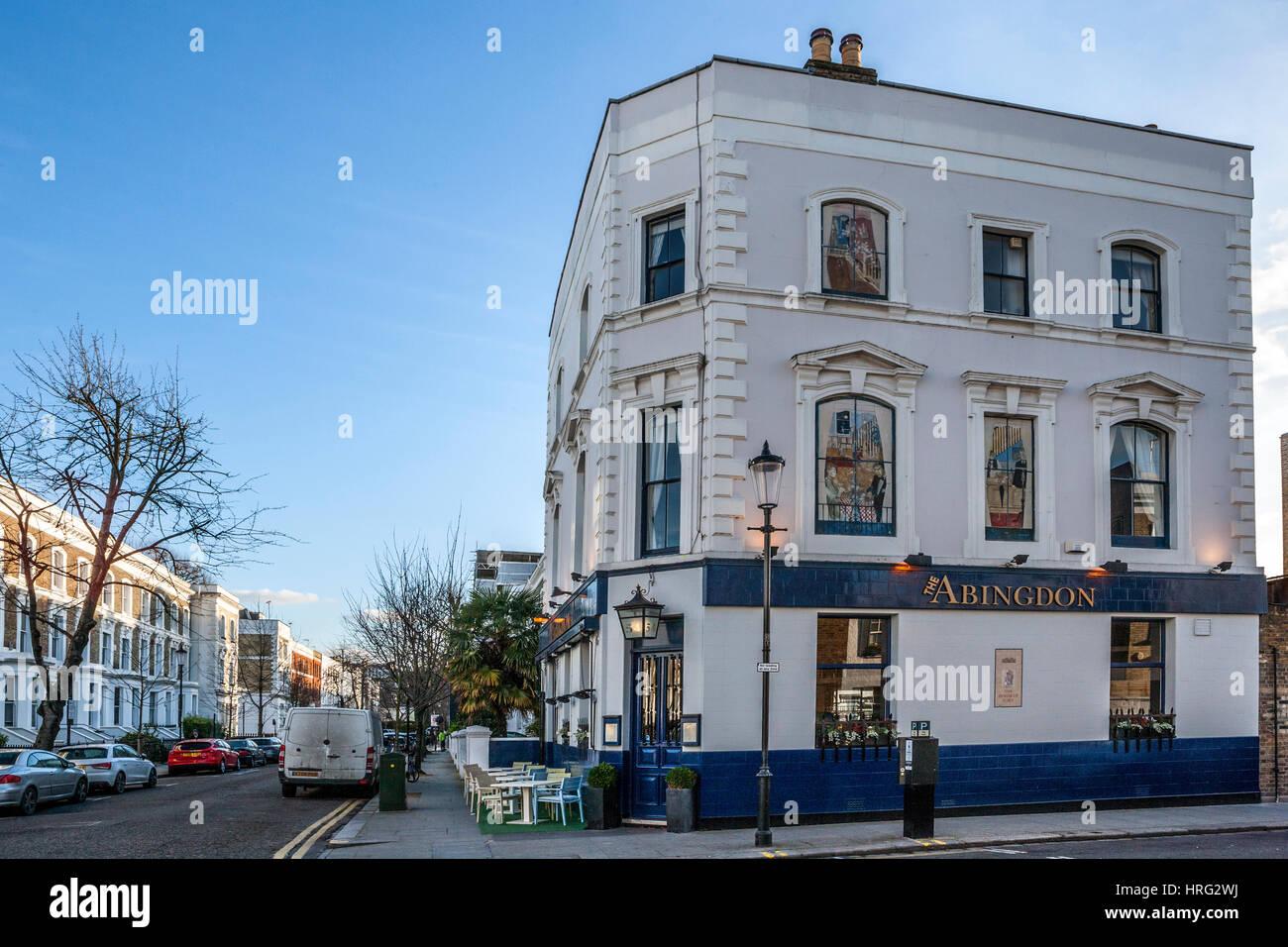 The Abingdon, Kensington, London - Stock Image