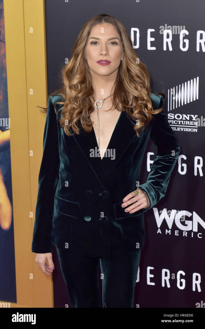 Allison holker at underground tv series season 2 premiere in los angeles new images