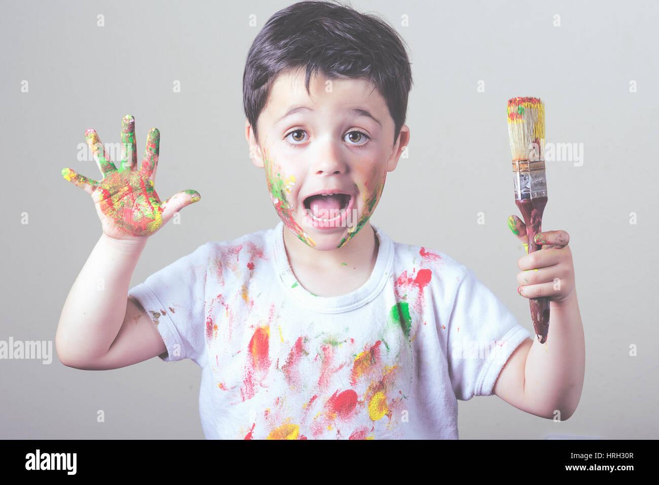 c42c9f0a651a Mischief Child Draw Stock Photos   Mischief Child Draw Stock Images ...