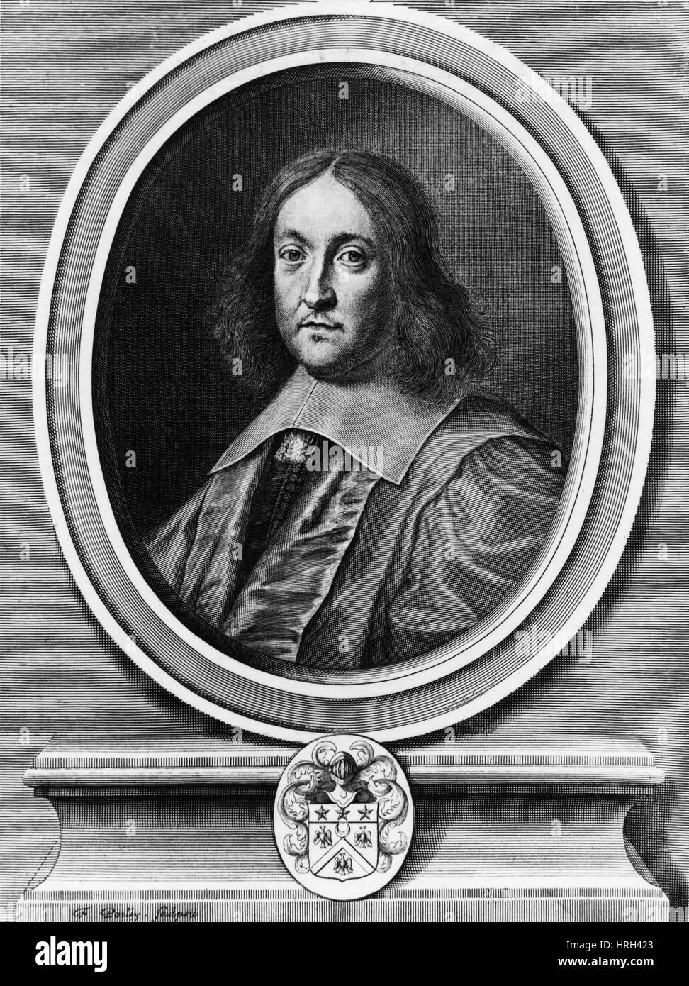 Pierre de Fermat, French Mathematician - Stock Image