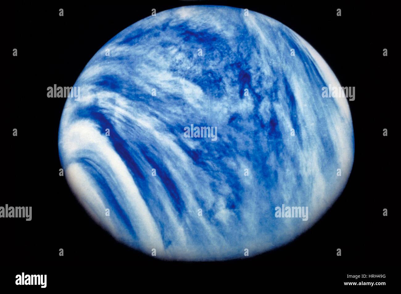 Venus from Mariner 10 - Stock Image