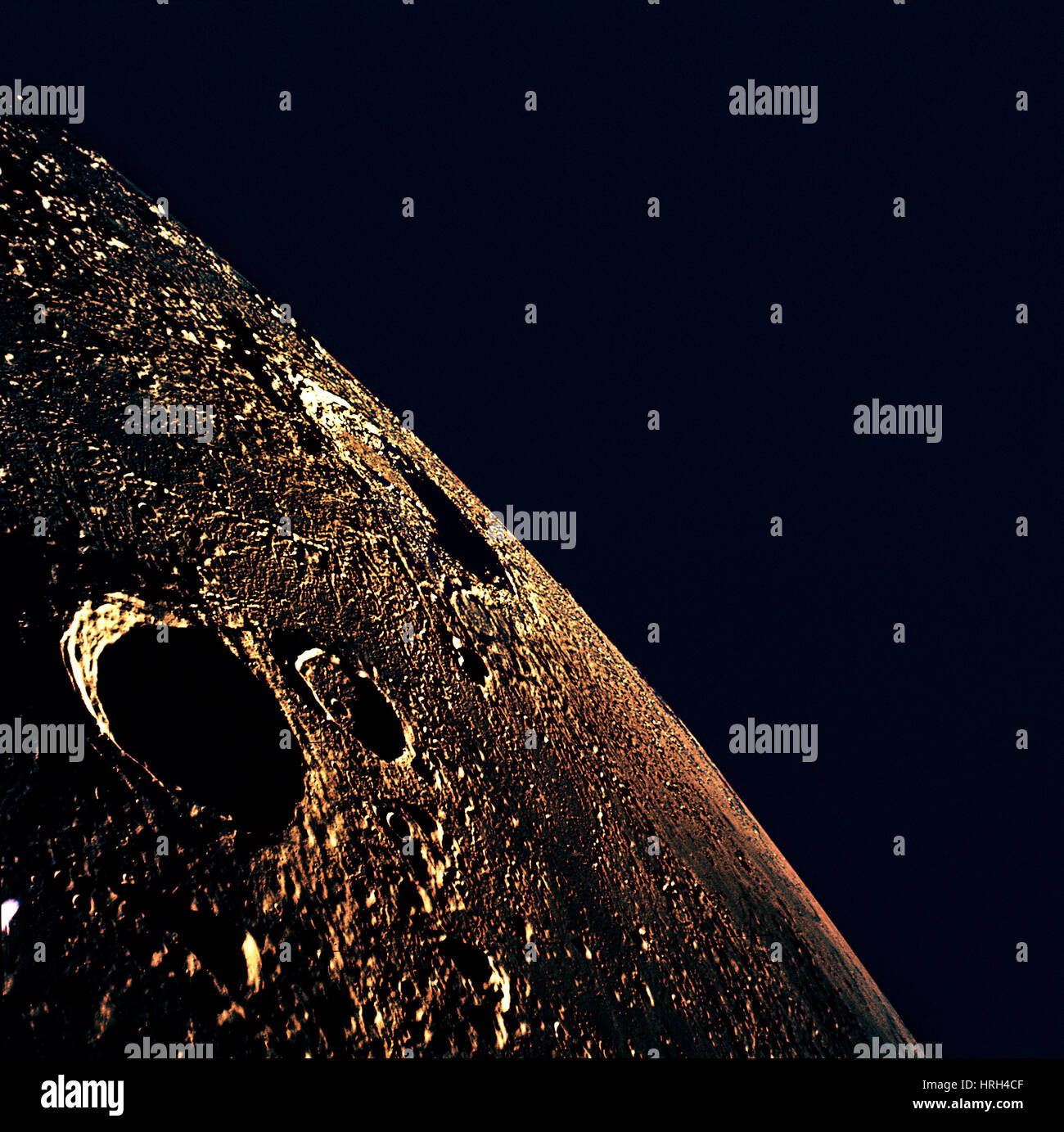 Moon from Apollo 12 - Stock Image