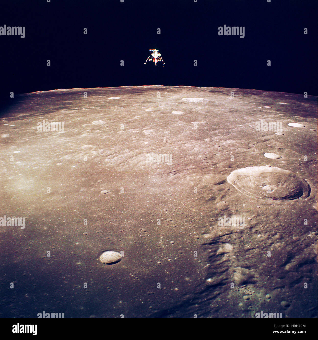 Apollo 12 Lunar Lander - Stock Image