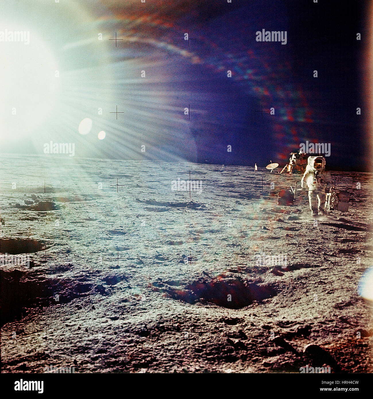 Apollo 12 astronaut - Stock Image