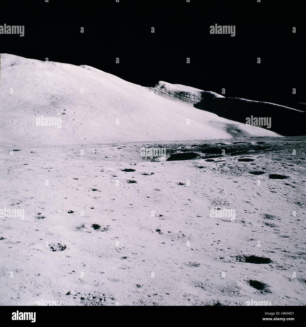 Apollo mission 16 - Stock Image