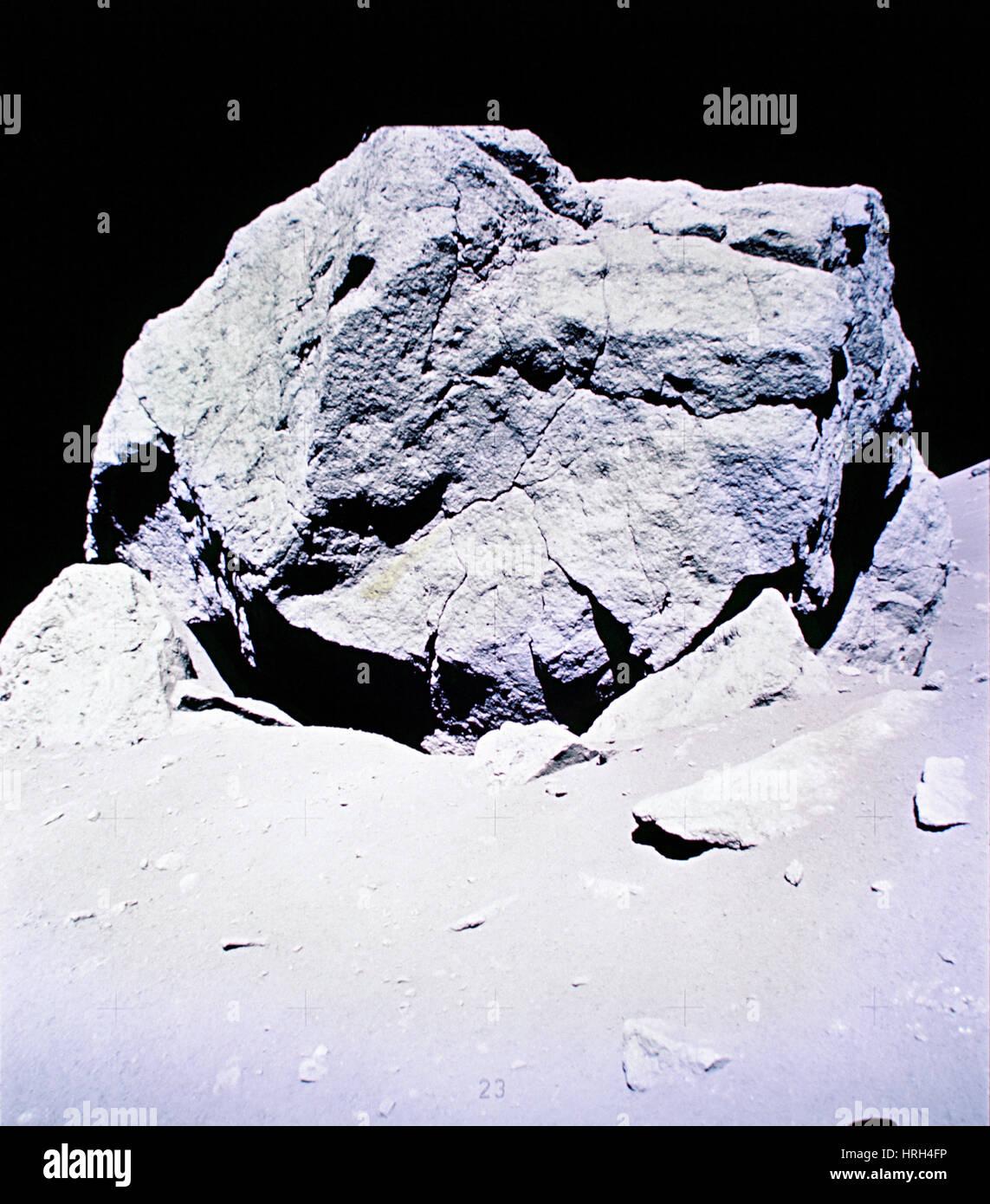 Apollo mission 17 - Stock Image