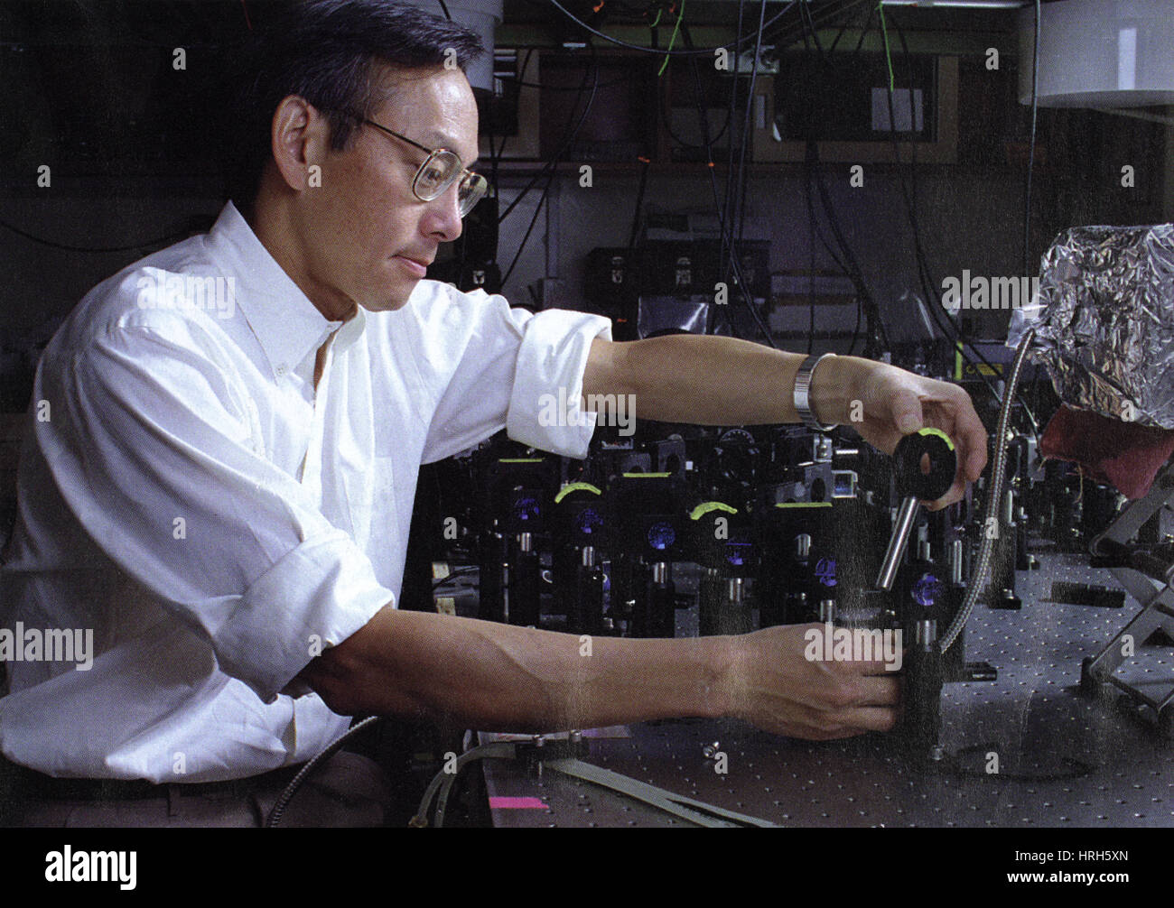 Steven Chu, American Physicist - Stock Image
