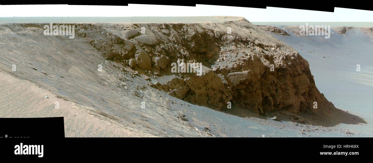Cape St. Mary, Mars - Stock Image