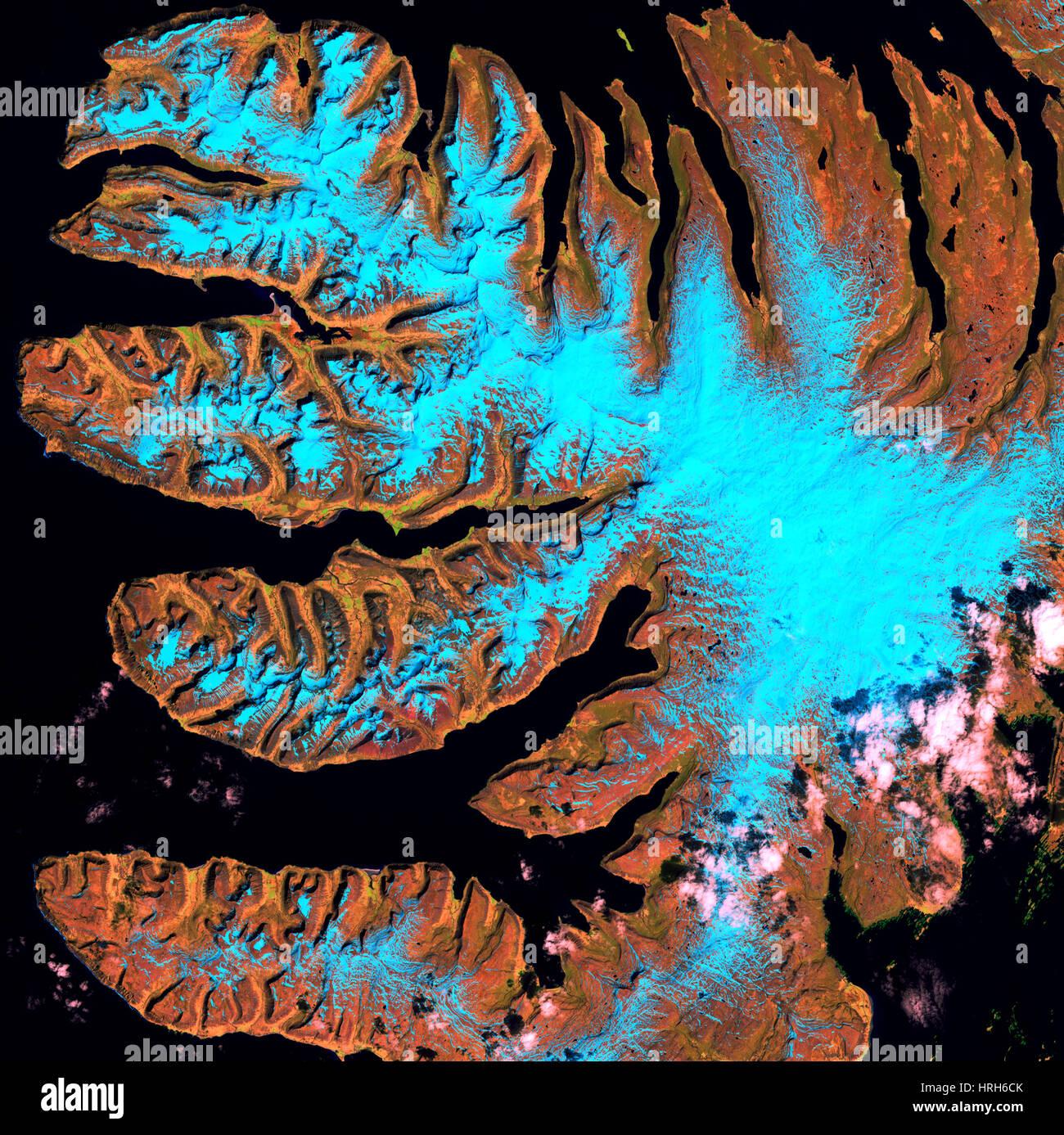 West Fjords, Iceland - Stock Image