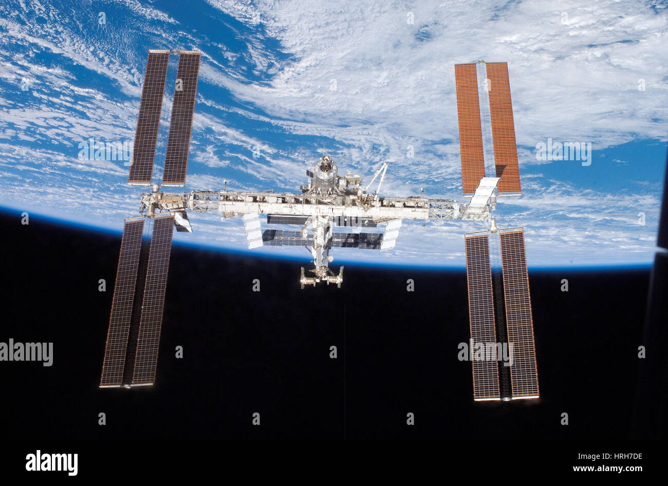 STS-117, International Space Station, 2007 - Stock Image