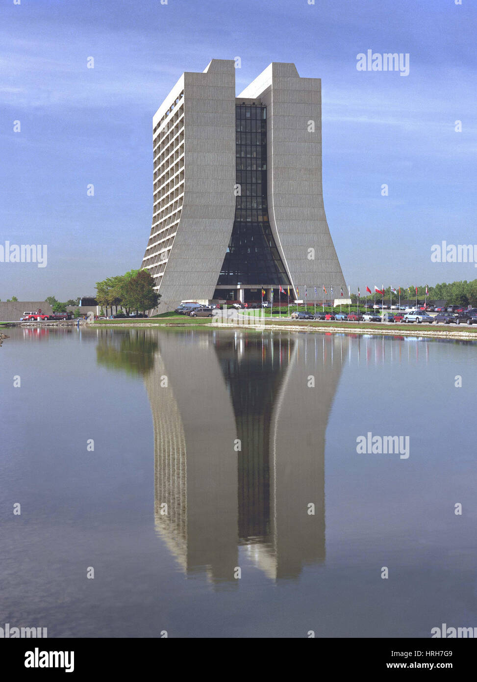 Wilson Hall at Fermilab - Stock Image