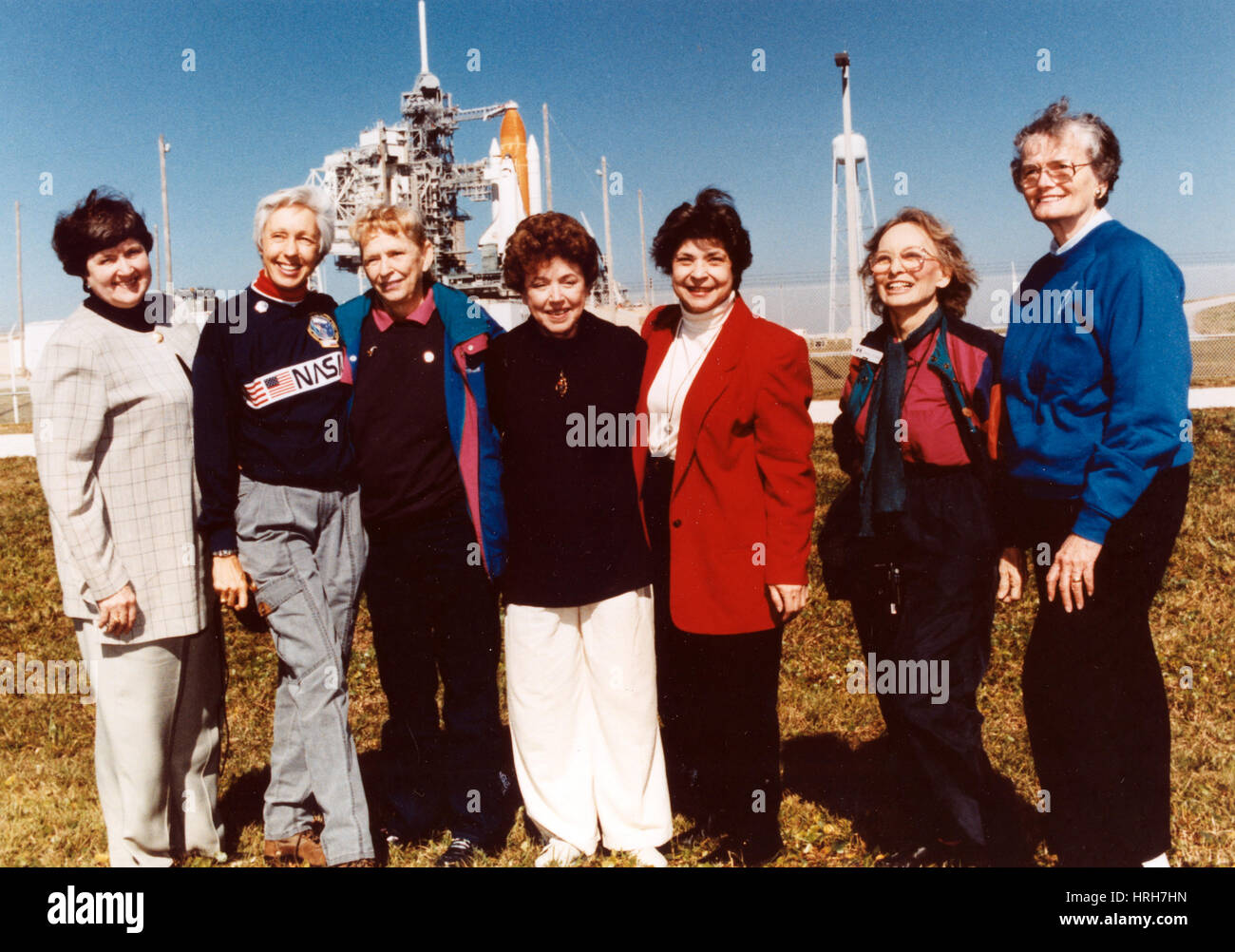 First Lady Astronaut Trainees - Stock Image