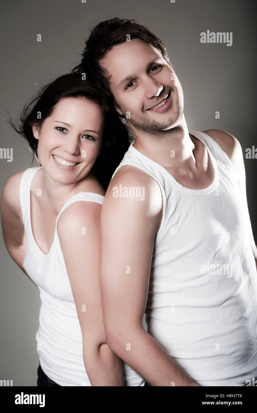 Model released, Junges Paar - young couple Stock Photo