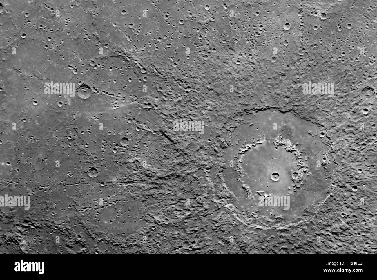 Planet Mercury - Stock Image