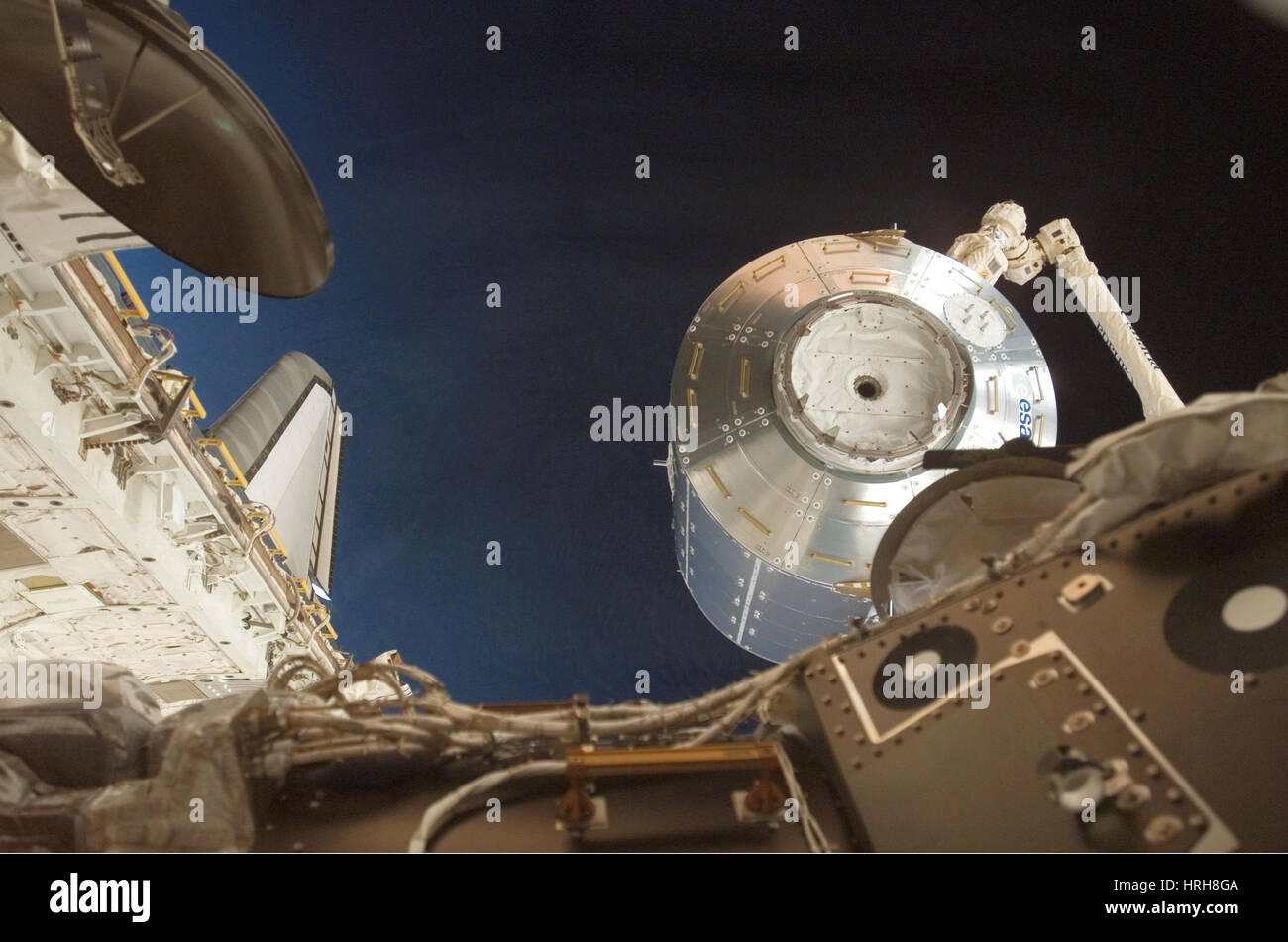 Columbus Laboratory being moved - Stock Image