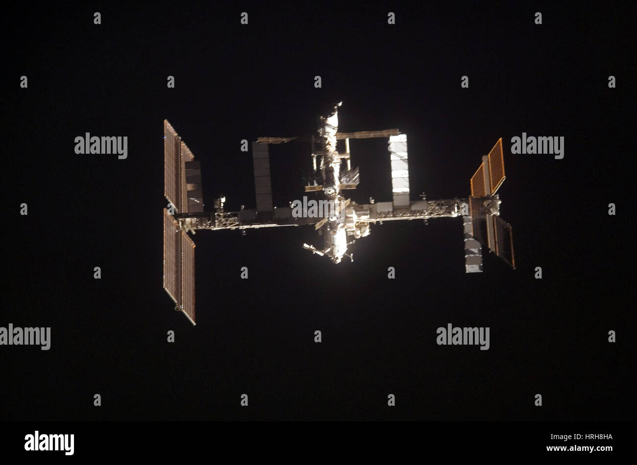 SST-120, International Space Station, 2007 - Stock Image