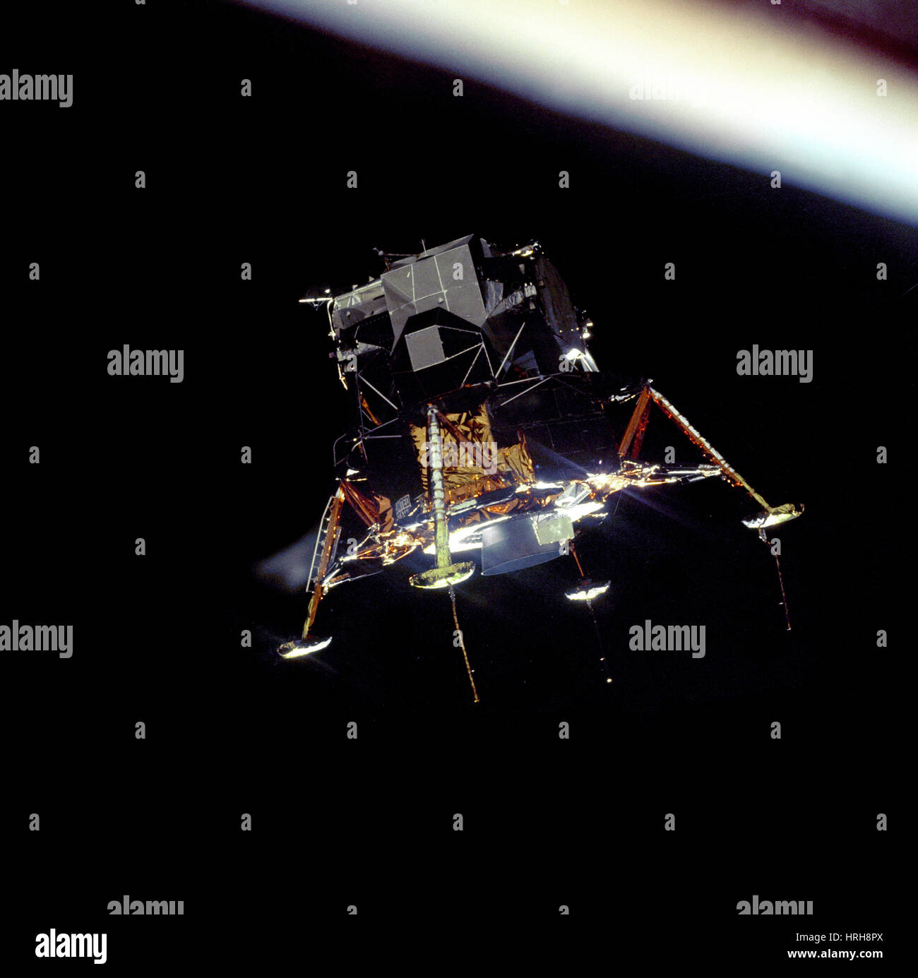 Apollo 11 Lunar Module 'Eagle' - Stock Image
