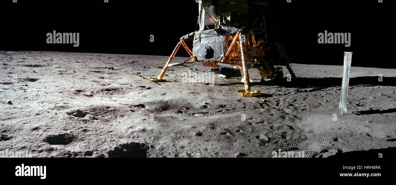 Apollo 11 Lunar Module - Stock Image