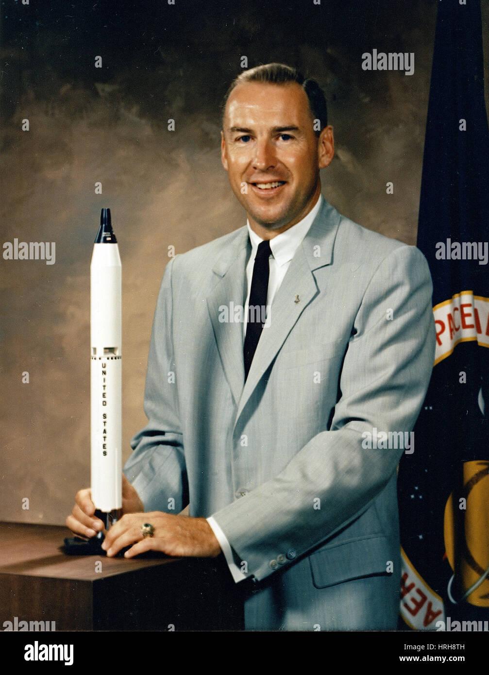 Astronaut James Lovell - Stock Image