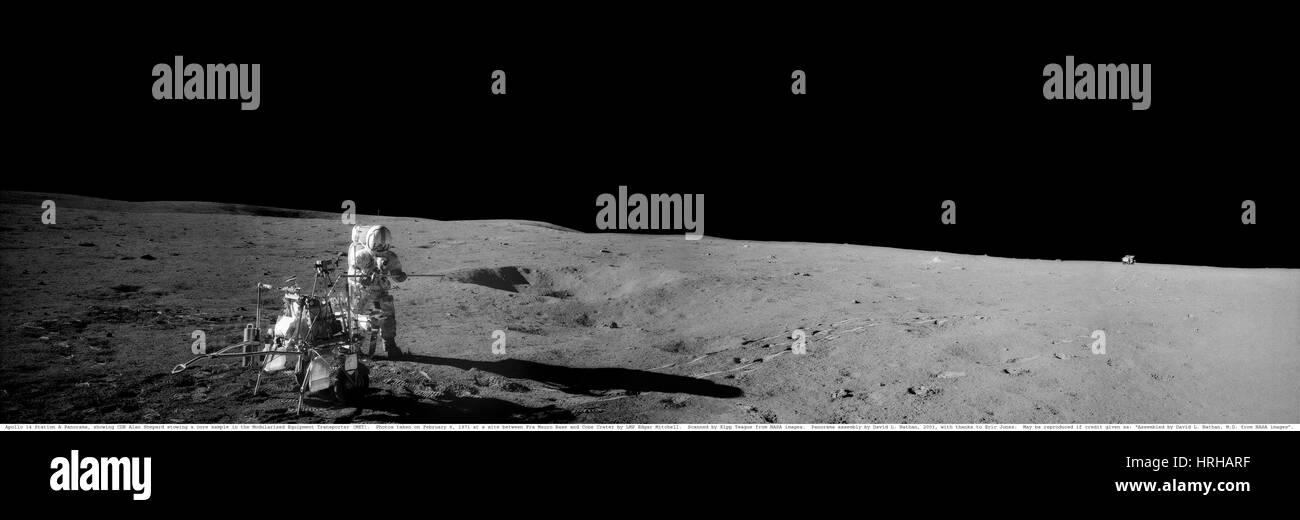 Astronaut Alan Shepard Stock Photo