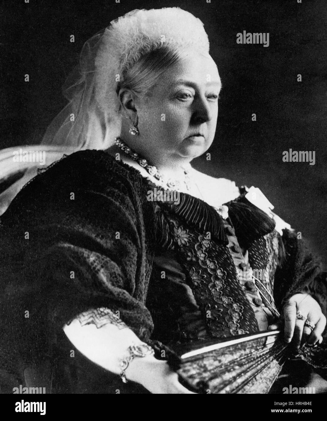 Victoria, Queen of England - Stock Image