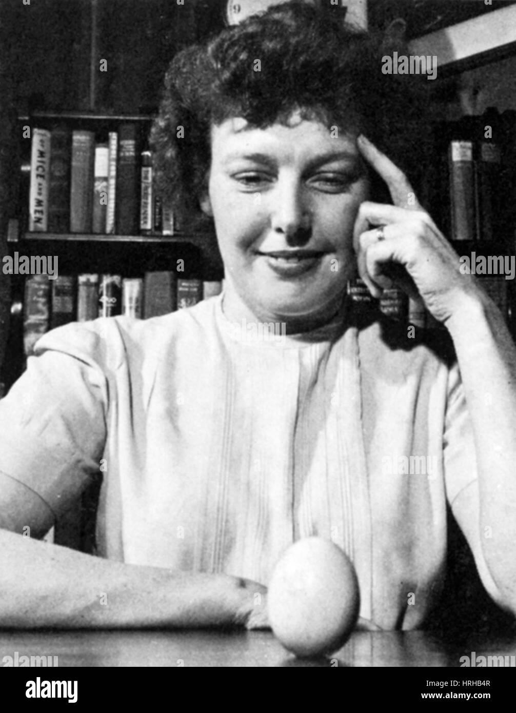 Betty MacDonald, American Author - Stock Image