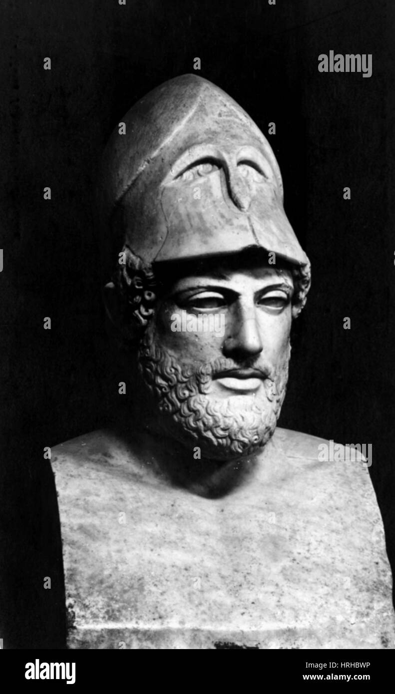 Pericles, Ancient Greek Ruler and General - Stock Image