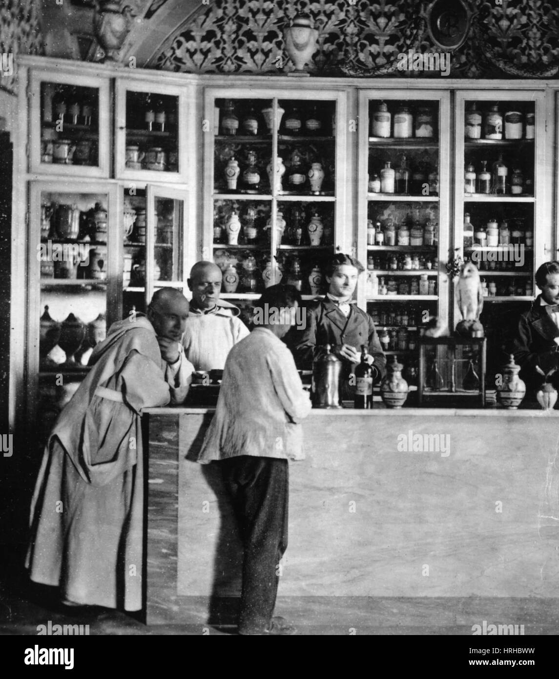 Pharmacy, 1900 - Stock Image